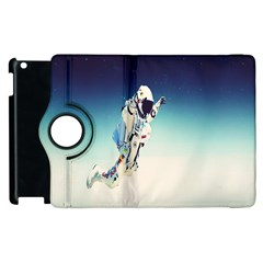 Astronaut Apple Ipad 2 Flip 360 Case by Simbadda