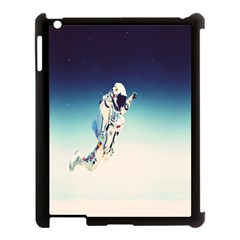 Astronaut Apple Ipad 3/4 Case (black) by Simbadda