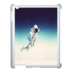 Astronaut Apple Ipad 3/4 Case (white) by Simbadda
