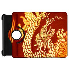 Fabric Pattern Dragon Embroidery Texture Kindle Fire Hd 7  by Simbadda
