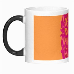 Brian Pink Green Orange Smart Morph Mugs by Alisyart