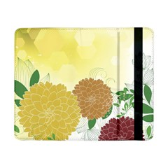 Abstract Flowers Sunflower Gold Red Brown Green Floral Leaf Frame Samsung Galaxy Tab Pro 8 4  Flip Case by Alisyart