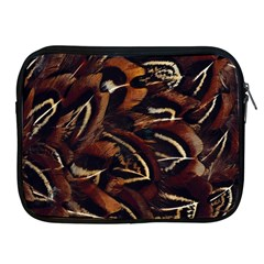 Feathers Bird Black Apple Ipad 2/3/4 Zipper Cases by Simbadda