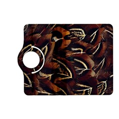 Feathers Bird Black Kindle Fire Hd (2013) Flip 360 Case by Simbadda