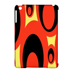 Circle Eye Black Red Yellow Apple Ipad Mini Hardshell Case (compatible With Smart Cover) by Alisyart