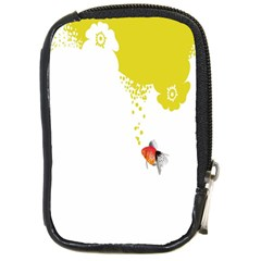 Fish Underwater Yellow White Compact Camera Cases by Simbadda