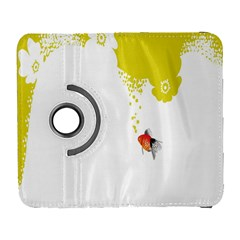 Fish Underwater Yellow White Galaxy S3 (flip/folio) by Simbadda