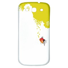 Fish Underwater Yellow White Samsung Galaxy S3 S Iii Classic Hardshell Back Case by Simbadda