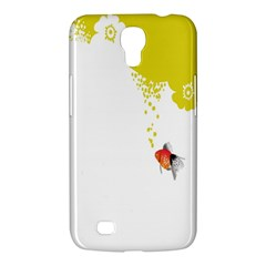 Fish Underwater Yellow White Samsung Galaxy Mega 6 3  I9200 Hardshell Case by Simbadda