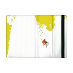 Fish Underwater Yellow White Ipad Mini 2 Flip Cases by Simbadda