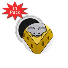 Cheese Mose Yellow Grey 1 75  Magnets (10 Pack)  by Alisyart