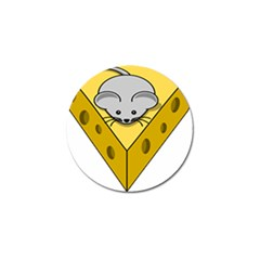 Cheese Mose Yellow Grey Golf Ball Marker (4 Pack) by Alisyart