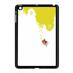 Fish Underwater Yellow White Apple Ipad Mini Case (black) by Simbadda