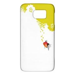 Fish Underwater Yellow White Galaxy S6 by Simbadda