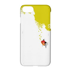 Fish Underwater Yellow White Apple Iphone 7 Hardshell Case by Simbadda