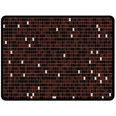 Cubes Small Background Fleece Blanket (large)  by Simbadda