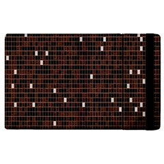 Cubes Small Background Apple Ipad 2 Flip Case by Simbadda