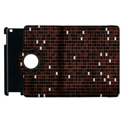 Cubes Small Background Apple Ipad 2 Flip 360 Case by Simbadda