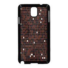 Cubes Small Background Samsung Galaxy Note 3 Neo Hardshell Case (black) by Simbadda