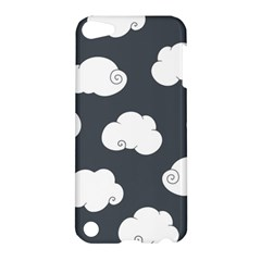 Cloud White Gray Sky Apple Ipod Touch 5 Hardshell Case by Alisyart