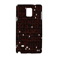 Cubes Small Background Samsung Galaxy Note 4 Hardshell Case by Simbadda