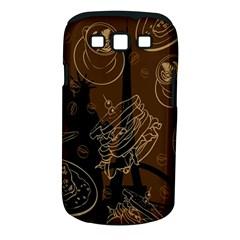 Coffe Break Cake Brown Sweet Original Samsung Galaxy S Iii Classic Hardshell Case (pc+silicone) by Alisyart