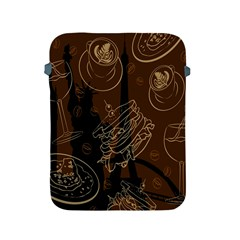 Coffe Break Cake Brown Sweet Original Apple Ipad 2/3/4 Protective Soft Cases by Alisyart