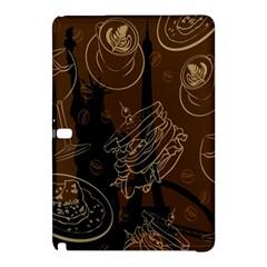 Coffe Break Cake Brown Sweet Original Samsung Galaxy Tab Pro 12 2 Hardshell Case by Alisyart