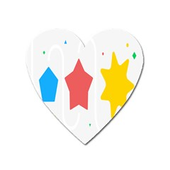 Evolution Jumsoft Star Heart Magnet by Alisyart