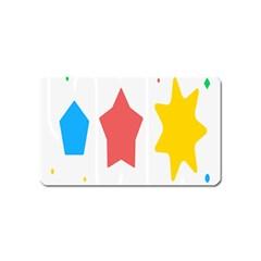 Evolution Jumsoft Star Magnet (name Card) by Alisyart