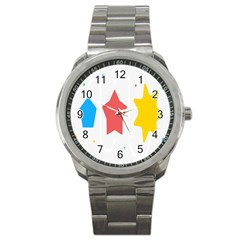 Evolution Jumsoft Star Sport Metal Watch by Alisyart
