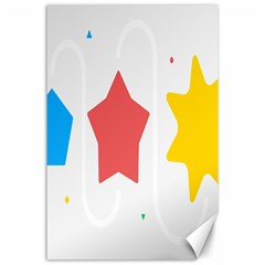 Evolution Jumsoft Star Canvas 24  X 36  by Alisyart