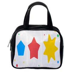 Evolution Jumsoft Star Classic Handbags (one Side) by Alisyart