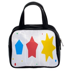 Evolution Jumsoft Star Classic Handbags (2 Sides) by Alisyart