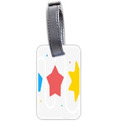 Evolution Jumsoft Star Luggage Tags (one Side)  by Alisyart
