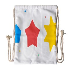 Evolution Jumsoft Star Drawstring Bag (large) by Alisyart