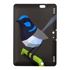 Animals Bird Green Ngray Black White Blue Kindle Fire Hdx 8 9  Hardshell Case by Alisyart