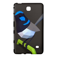 Animals Bird Green Ngray Black White Blue Samsung Galaxy Tab 4 (8 ) Hardshell Case  by Alisyart