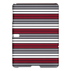 Fabric Line Red Grey White Wave Samsung Galaxy Tab S (10 5 ) Hardshell Case  by Alisyart