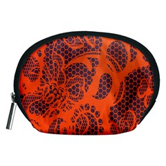 Enlarge Orange Purple Accessory Pouches (medium)  by Alisyart
