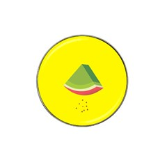Fruit Melon Sweet Yellow Green White Red Hat Clip Ball Marker (10 pack) by Alisyart