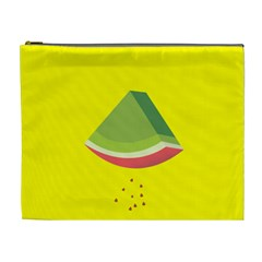 Fruit Melon Sweet Yellow Green White Red Cosmetic Bag (xl) by Alisyart