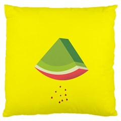 Fruit Melon Sweet Yellow Green White Red Large Cushion Case (two Sides) by Alisyart