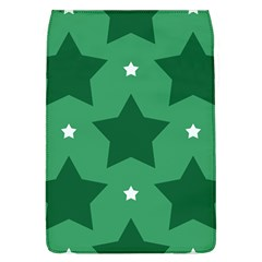 Green White Star Flap Covers (l)  by Alisyart