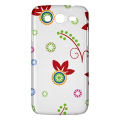 Floral Flower Rose Star Samsung Galaxy Mega 5 8 I9152 Hardshell Case  by Alisyart