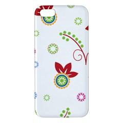 Floral Flower Rose Star Iphone 5s/ Se Premium Hardshell Case by Alisyart