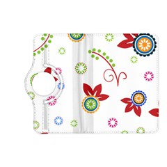 Floral Flower Rose Star Kindle Fire Hd (2013) Flip 360 Case by Alisyart