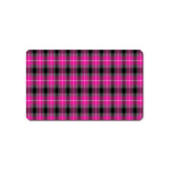 Cell Background Pink Surface Magnet (name Card) by Simbadda