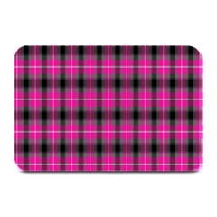 Cell Background Pink Surface Plate Mats by Simbadda
