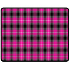 Cell Background Pink Surface Fleece Blanket (medium)  by Simbadda